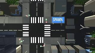 traffic system like gta for unity