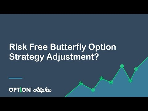 Risk Free Butterfly Option Strategy Adjustment? YEP!
