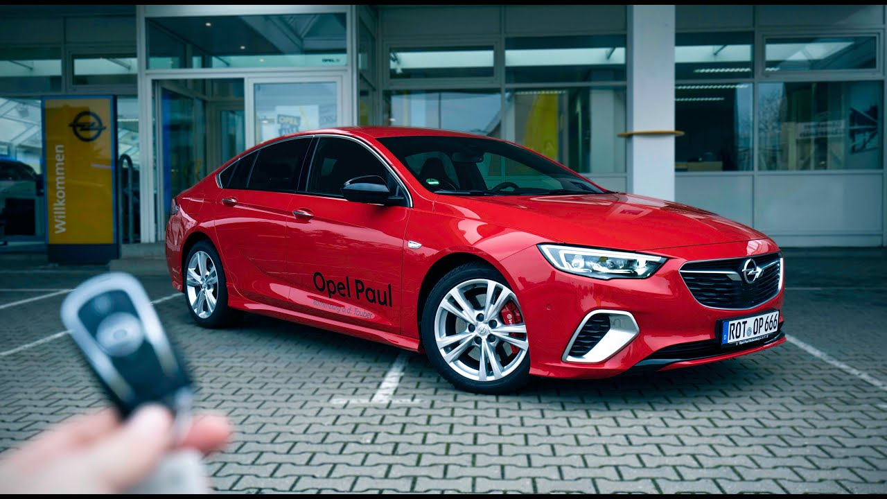 2020 Opel Insignia Gsi 2 0 Biturbo Youtube