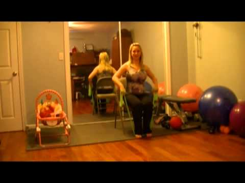 Chair Fitness- Great workout for beginners, pre & post natal, senior's and bariatric's
