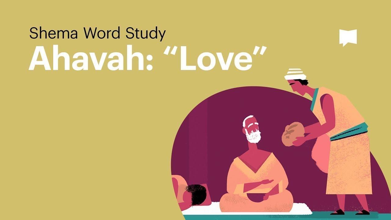 Word Study: Ahavah -