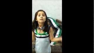 طفلة تغني لدير الزور - وفاء عباس