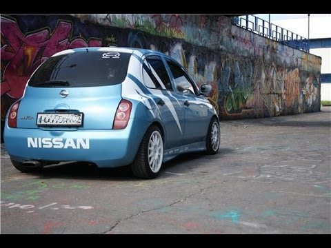 nissan micra tuning - youtube