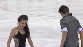 ISU Гран При (юниоры) 2018 | Танцы на льду (пр танец) | Elizaveta Khudaiberdieva/Nikita Nazarov Rus