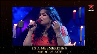 Mesmerizing  medley by our Mentors #KuncheRaghu #Kalpana & #Usha  #StarMaaSuperSinger Today at 9 PM