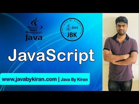 JavaScript -By Kiran Sir-JAVA By Kiran,Pune