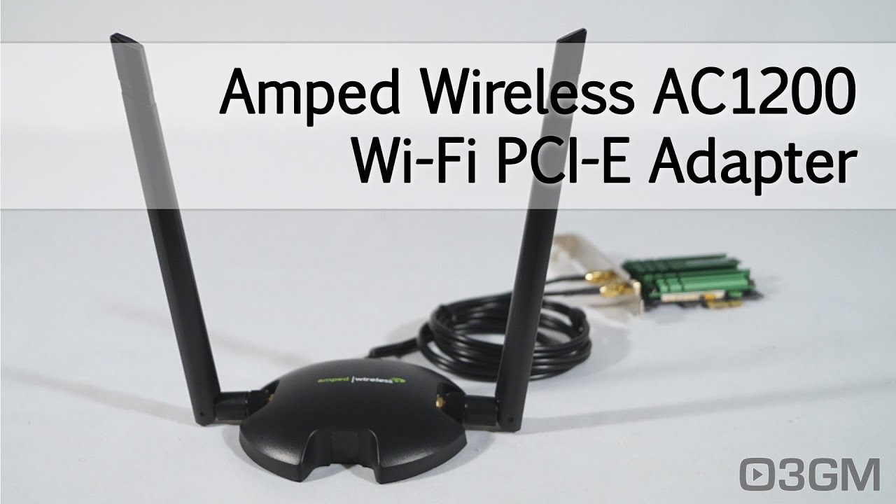 Amped Wireless PCI20E High Power AC1200 Wi-Fi PCI-E Adapter