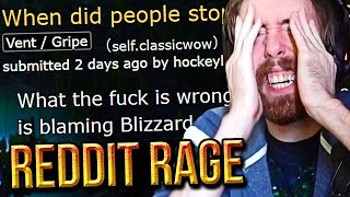 F**K EVERYONE! Asmongold Reacts To Classic WoW Player RAGE On Reddit