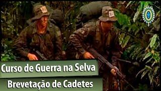 EN 99 - Curso de Guerra na Selva - Brevetação de Cadetes