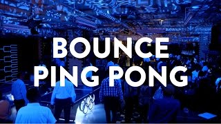 Ping Pong + Beer + Drinks! | Bounce | What's Good London