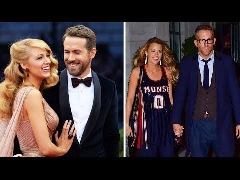 Blake Lively and Ryan Reynolds's Lovely Moments - 2017