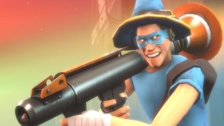 Repeat youtube video Rocket Jumping Scout! The BEST Randomizer Loadout!