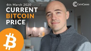 Current Bitcoin Price - March 4th 2020 (Bitcoin, Ethereum, Dash, Litecoin)