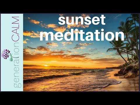 Evening meditation 15 minutes | relax & reflect at the end of the day