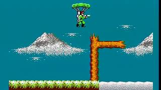 [Commentary] Bionic Commando (JP, NES) any% speed run in 14:50