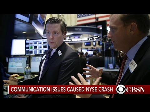 Software rollout responsible for NYSE trading glitch