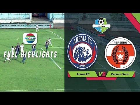 AREMA FC (4) vs (1) PERSERU SERUI - Full Highlight | Go-Jek Liga 1 bersama Bukalapak Mp3