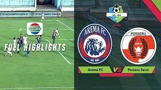 AREMA FC (4) vs (1) PERSERU SERUI - Full Highlight | Go-Jek Liga 1 bersama Bukalapak