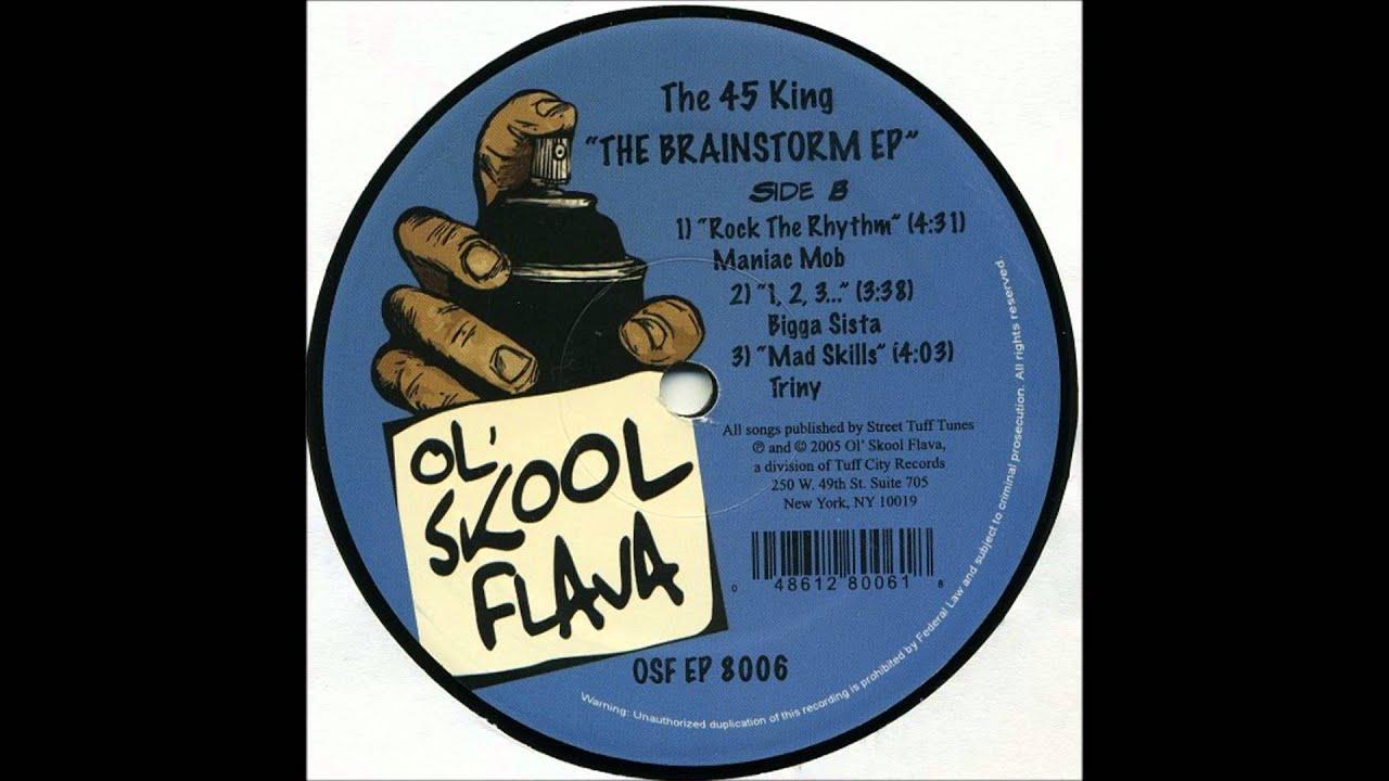 The 45 King feat. Maniac Mob - Rock The Rhythm