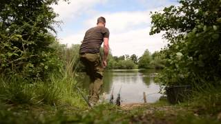 can darrell catch on a range of hook baits for the camera