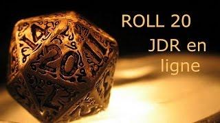 Tuto Fr pour Roll 20 - Du Jeu de Rôle en Ligne Gratuit !