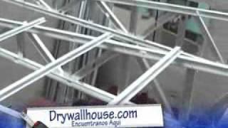 Construccion en drywall  Explicacion :proformadrywall@hotmail.com 946370515