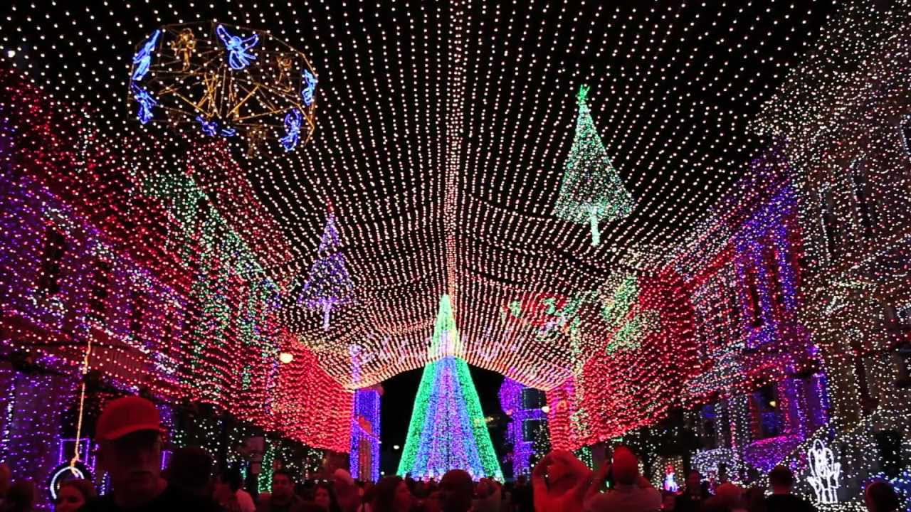2011 Osborne Dancing Lights canopy - Parade of the Wooden Soldiers - at Walt Disney World - YouTube & 2011 Osborne Dancing Lights canopy - Parade of the Wooden Soldiers ...