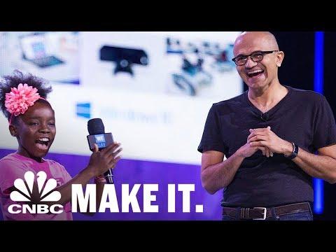 The Top 5 Personality Traits Of Microsoft CEO Satya Nadella   CNBC Make It.