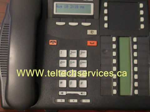 Nortel Phone - Remote Access To Voice Mail