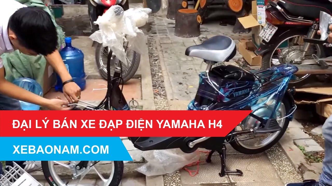 Đại lý Bán Xe Đạp Điện Yamaha H4, Xe đạp điện Yamaha H4 | 0979.66.22.88 I Xebaonam.com