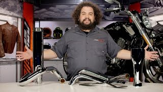 bassani exhaust for harley v rod review at revzilla com