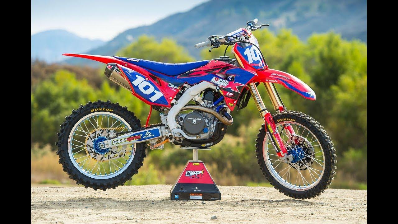 Racer X Films: Garage Build 2018 Honda CRF450R - YouTube