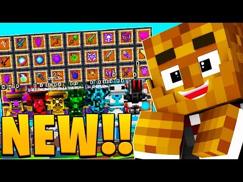 *BRAND NEW* FUTURE LUCKY BLOCK BATTLE! - MINECRAFT MODDED MINIGAME
