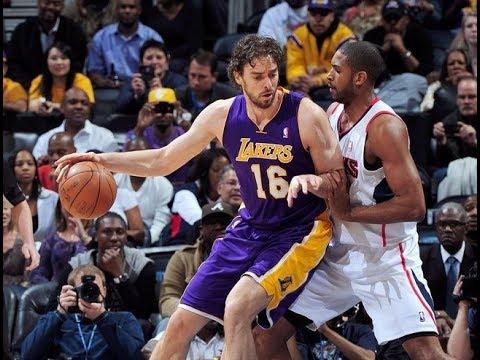 Pau Gasol - Low Post Skills (LA Lakers era)