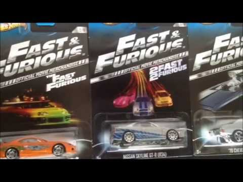 hot wheels fast furious cars - Rare Hot Wheels Cars 2013