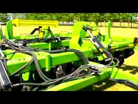agri technology used for tilling and sowing