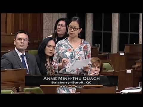 Canadian House of Commons debates Bill C45 - June 1rst, 2017 - Sitting 185