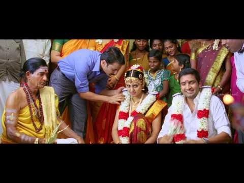 Vanavarayan Vallavarayan Tamil Movie Comedy Scenes   Santhanam flirting with Girls at his Marriage