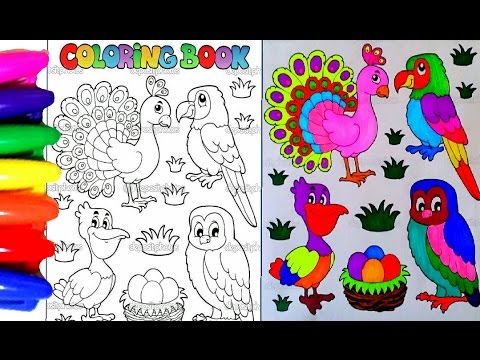 Learning COLORS For Children Coloring Pages