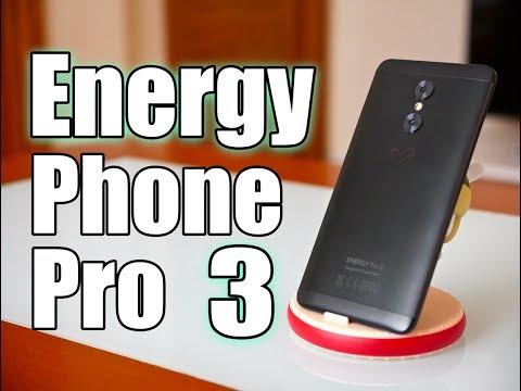 Energy Phone Pro 3 review en español