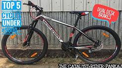 TOP 5 CYCLES UNDER ₹5000/- IN INDIA   MOUNTAIN BIKE   ROAD BIKE   FAT BIKE   BMX   PART=2