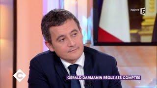 Gérald Darmanin règle ses comptes - C à Vous - 12/12/2017