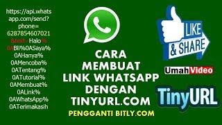Membuat Short Link WA dengan TinyURL.com Pengganti Bitly.com thumbnail