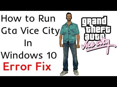 How to Run Gta Vice City on Windows 10   directx 8.1 Error Fix