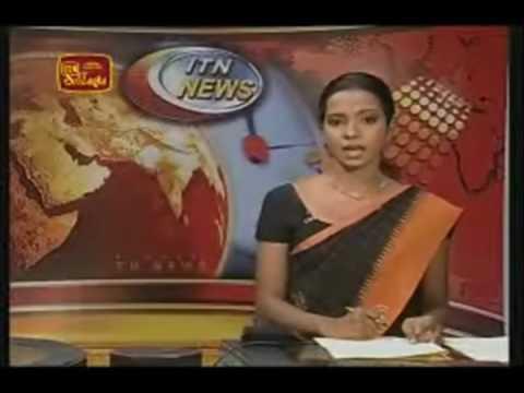 ITN News 26 03 2009 English Version - LTTE confined to one square kilometre