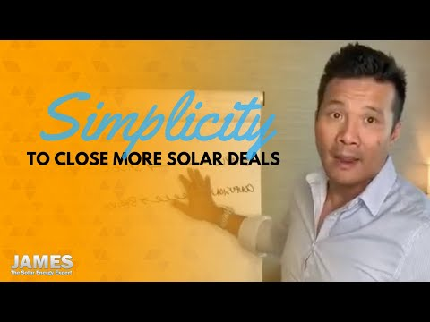 The path to least resistance on closing solar deals
