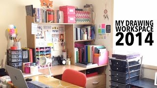 My Drawing Workspace Tour 2014