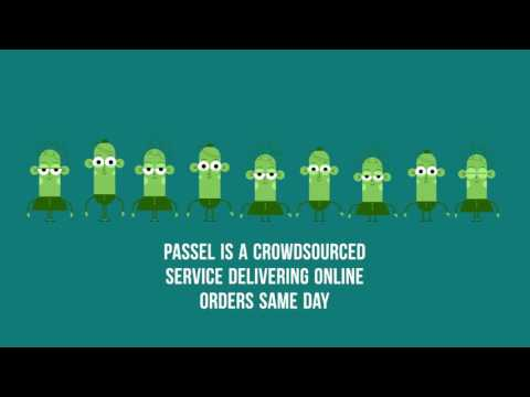 Passel - Crowdsourced, Same Day Online Deliveries
