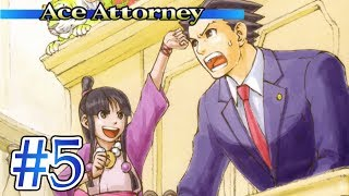 TRIAL FOR MY LIFE! - Let's Play - Phoenix Wright: Ace Attorney - 5