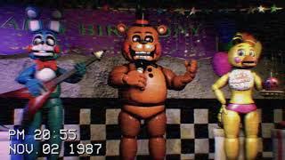 [Фнаф] іграшка група показати стрічки 1987 - п'ять ночей у Фредді 2